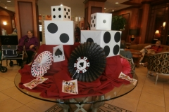 Casino night party theme